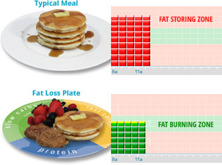fat loss plate